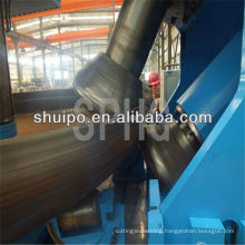 CNC dish flanging machine(bending machine for tanks)